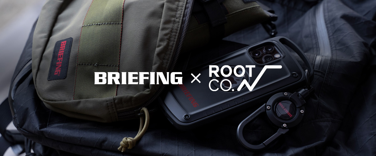 BRIEFING×ROOT CO.コラボレーション